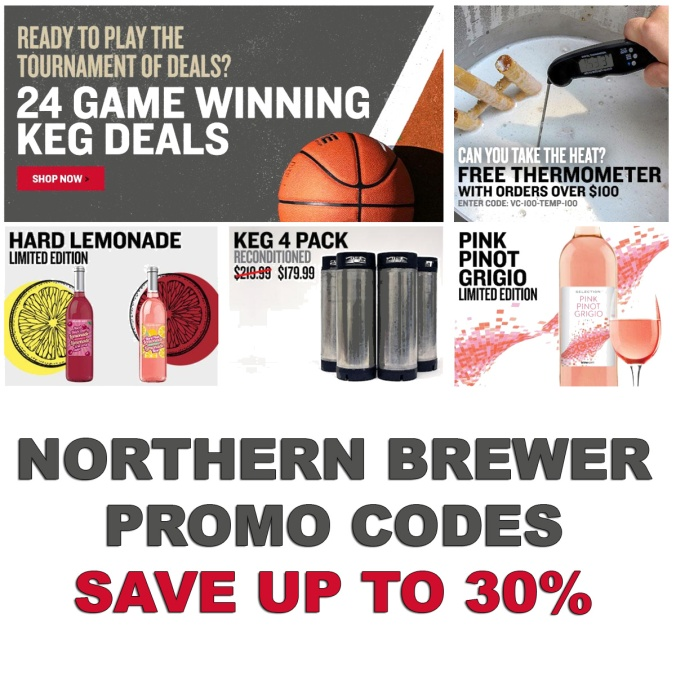 Northern Brewer Promo Codes For March, 2019