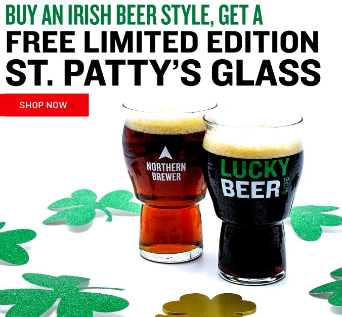 NorthernBrewer.com Promo Code for a FREE Pint Glass!