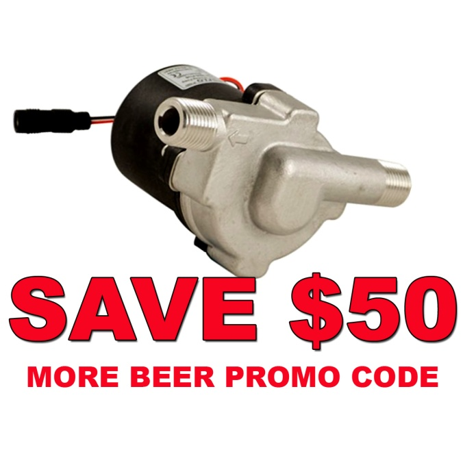 Save $50 On A Stainless Steel Homebrewing Pump