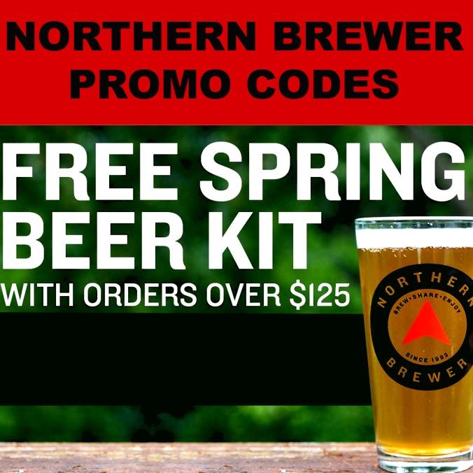 Get a Free Beer Kit at NorthernBrewer.com With Promo Code