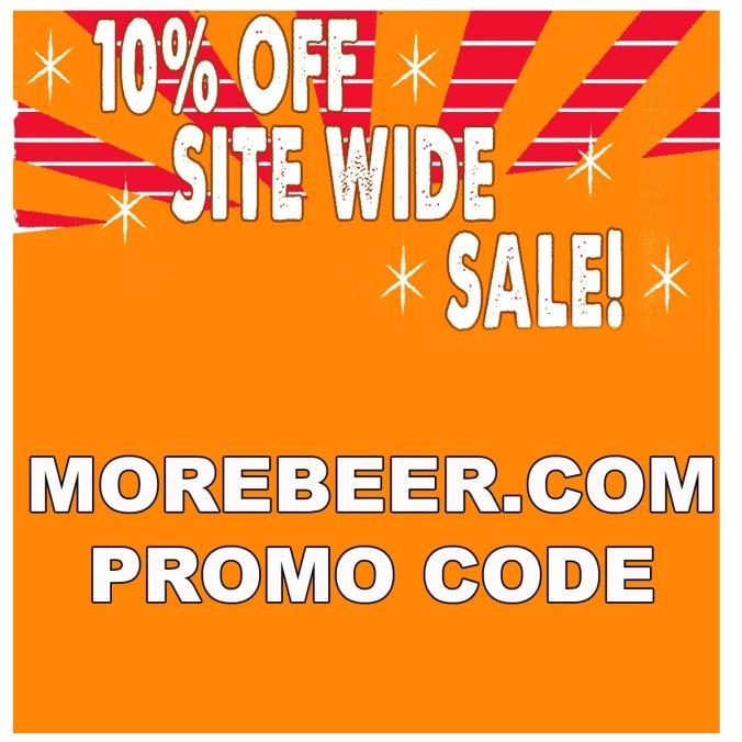 Save 10% Site Wide at MoreBeer.com