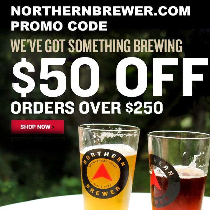 NorthernBrewer.com Memorial Day Promo Code