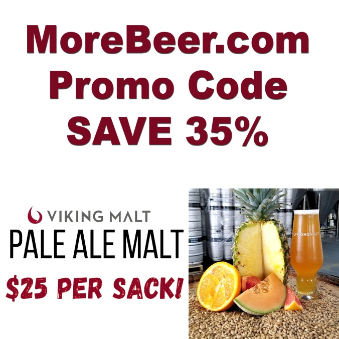 Get a 55 LBS Sack of Viking Malt for Just $25 When You Use This More Beer Coupon Code