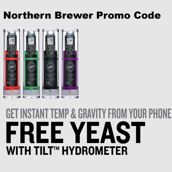NorthernBrewer.com Promo Code for Free Yeast!