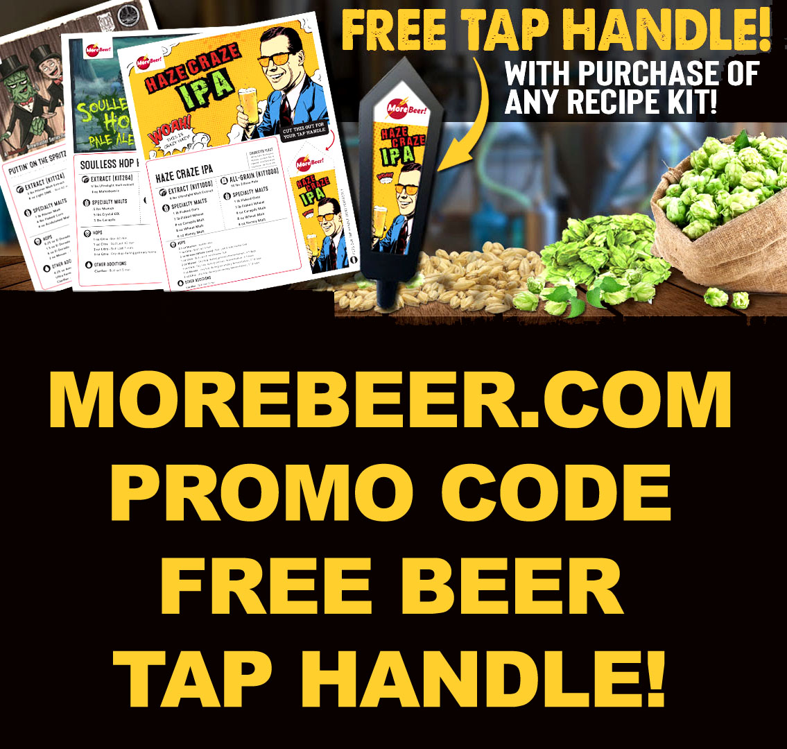 Morebeer Com Promo Code For September 2019 Homebrewing Deal
