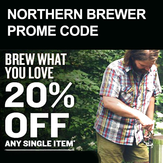 Use this NorthernBrewer.com September Promo Code for 20% Off!