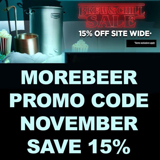 MoreBeer.com Promo Code for 15% Off