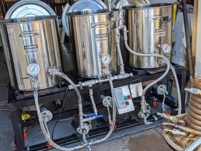 Stainless Steel Hose Covers for Homebrewing