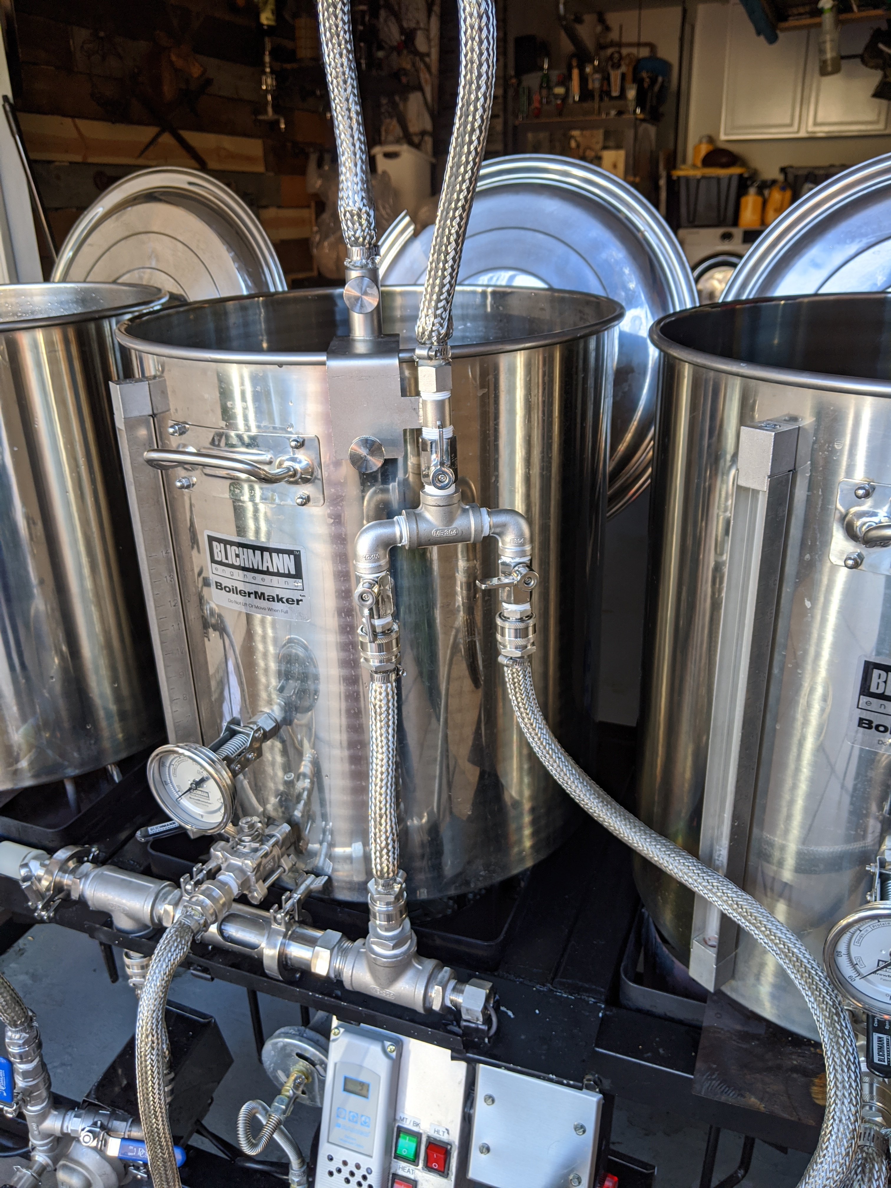 Stainless Steel Braiding For Homebrewing