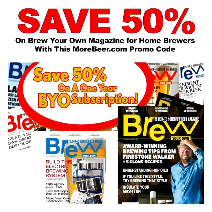 Get a Subscription to Brew Your Own Magazine for 50% Off