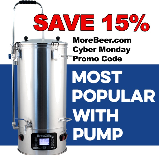 MoreBeer.com Promo Code or Cyber Monday 2019