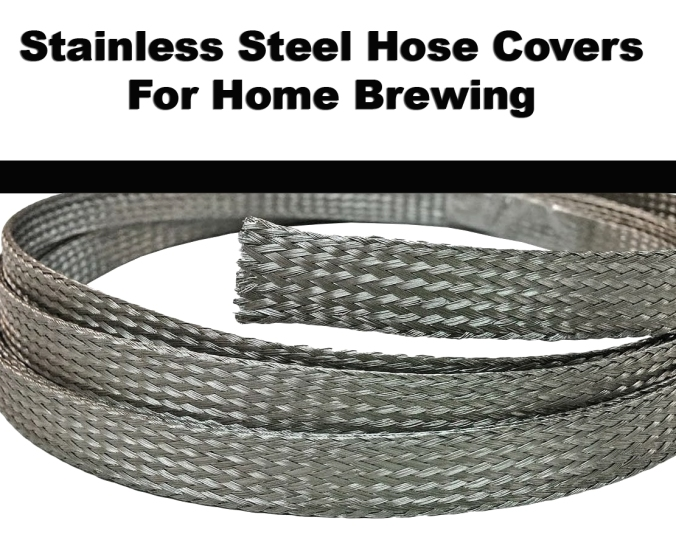 Stainless Steel Half Inch Braid for Home Brewing Hoses