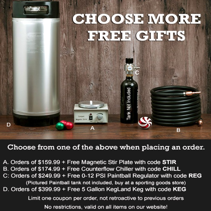 WilliamsBrewing.com Promo Code for a FREE Gift