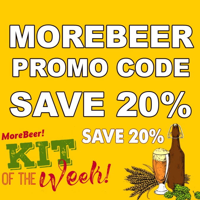Use this More Beer promo code and save 20% On a Beer Kit of the Week